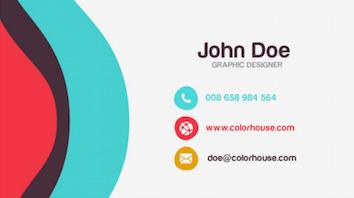 business card design London
